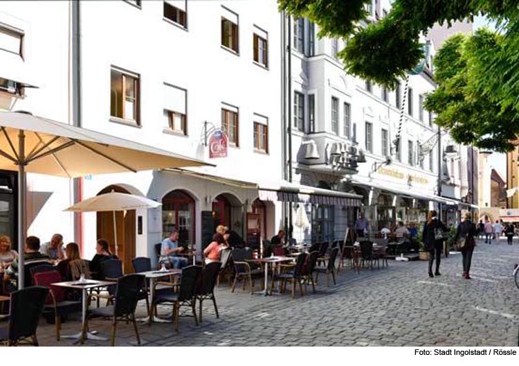 Sperrzeit Für Die Außengastronomie In Der Altstadt Ingolstadt Reporter