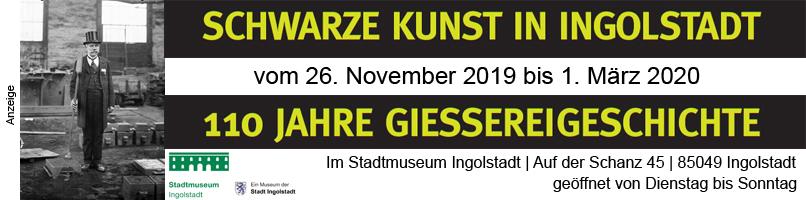 Schwarze Kunst in Ingolstadt